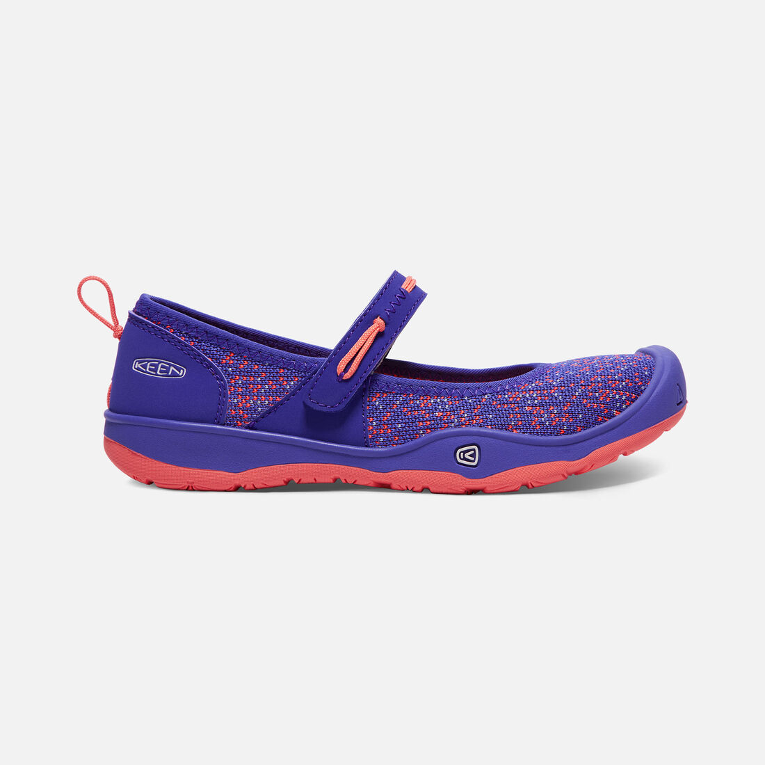 Big Kids' MOXIE MARY JANE in Royal Blue/Fusion Coral - large view.