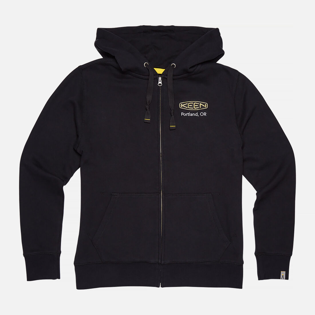 Men's KEEN PDX HOODIE in Black - large view.