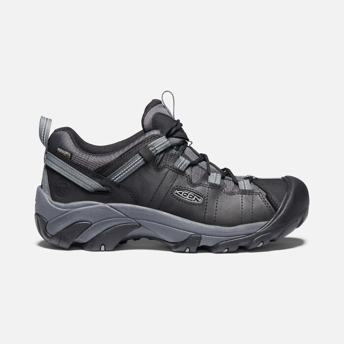 Men's Targhee II Waterproof in Black/Magnet - large view.