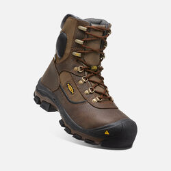 Men's Leavenworth Insulated Waterproof Boot (Steel Toe) in Cascade Brown - small view.