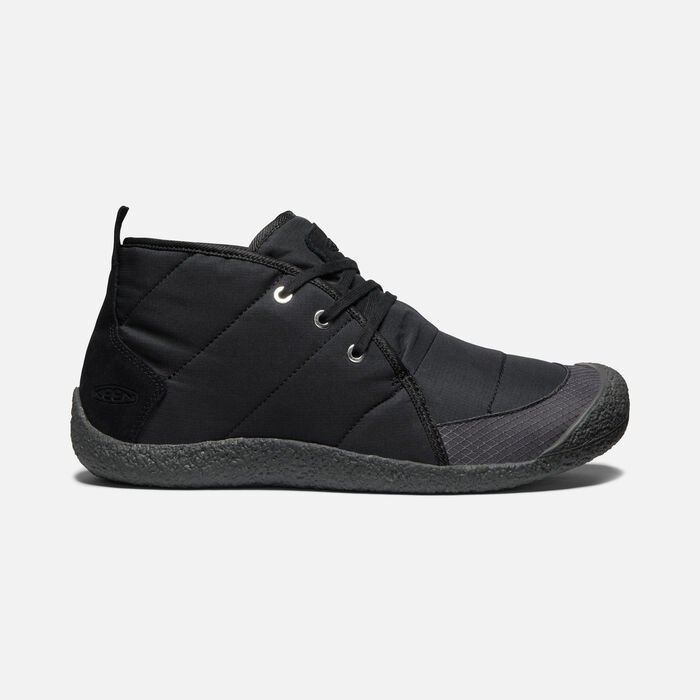 Women's Howser Quilted Chukka in BLACK/RAVEN - large view.