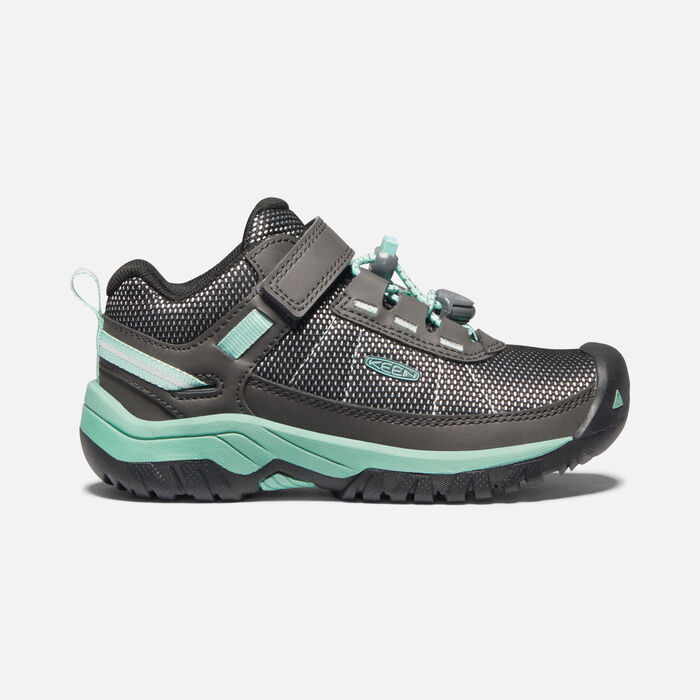 Younger Kids' Targhee Sport Vent Hiking Shoes in Magnet/Ocean Wave - large view.