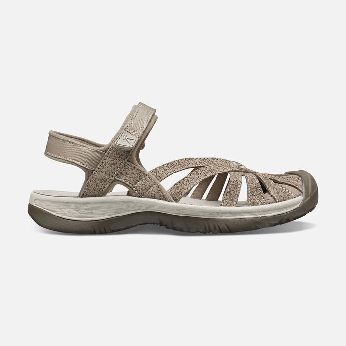 Women's Rose Sandal in BRINDLE/SHITAKE - large view.
