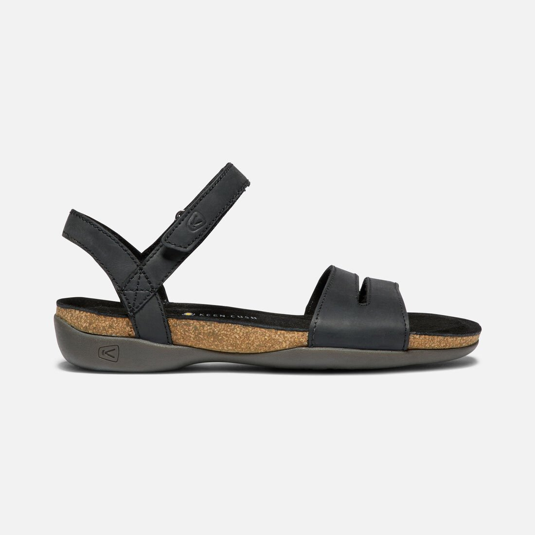 657612565b9f Women s ANA CORTEZ SANDAL in BLACK BLACK - large view.