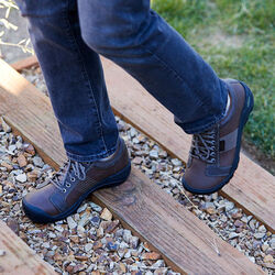 Men's Austin Casual Shoes in  - on-body view.
