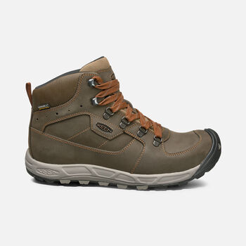 Westward Leather Waterproof Wanderstiefel Für Herren in DARK OLIVE/RUST - large view.