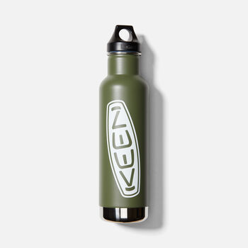 KEEN Classic Waterbottle 20oz in FRESHPINE - large view.