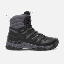 Men's GYPSUM POLAR Waterproof Boot in Black/Steel Grey - small view.