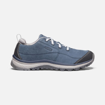 Women's TERRADORA SNEAKER LEATHER in BLUE NIGHTS/PALOMA - large view.