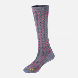 Women's Gracie Lite Knee-High in Steel Blue / Rose / Charcoal - large view.