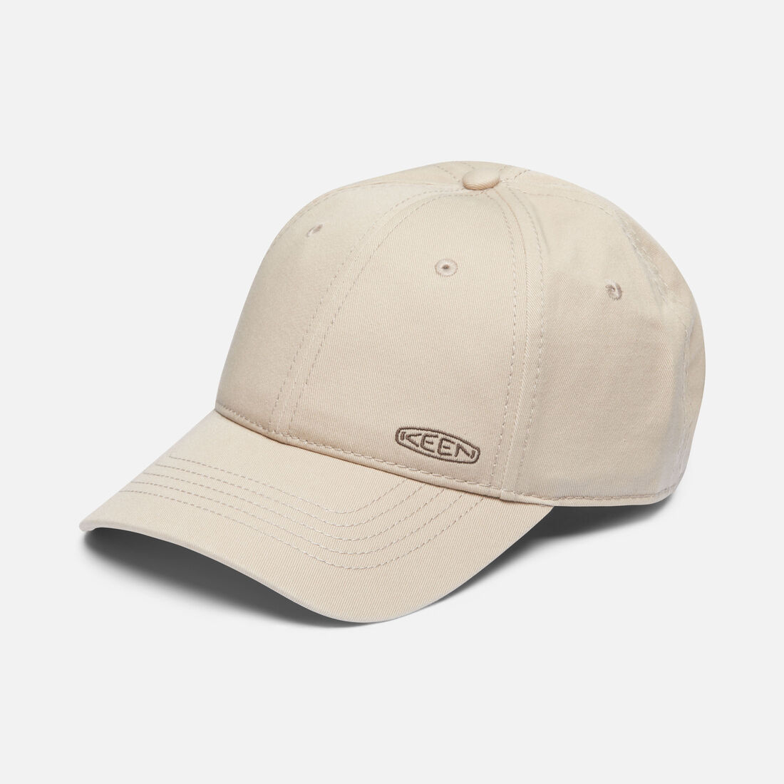 Dad Hat in Khaki - large view.