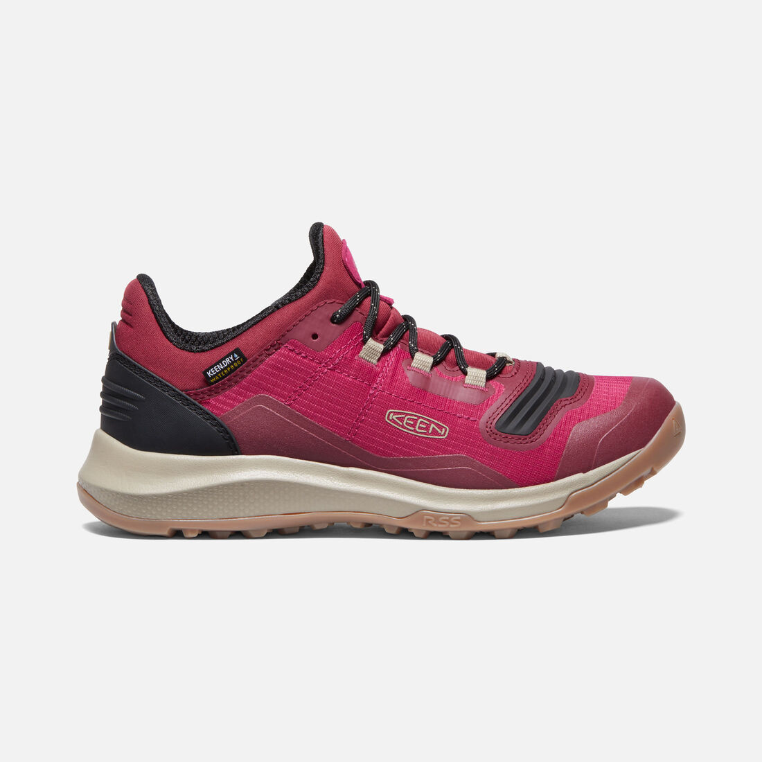 Women's Tempo Flex Waterproof in Jam/Plaza Taupe - large view.