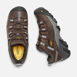 Men's Detroit Low ESD (Steel Toe) in Dark Brown - small view.