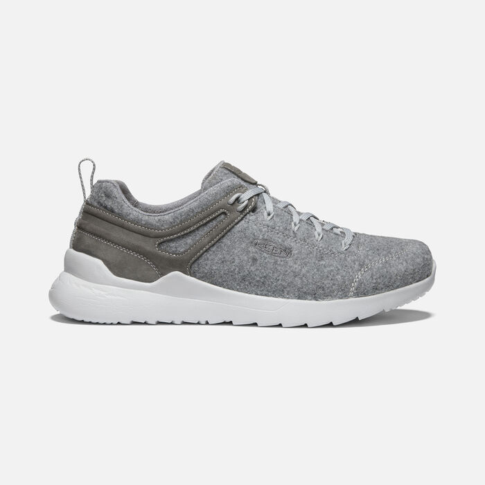 Men's Highland Arway Trainers in Steel Grey/Drizzle - large view.