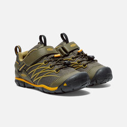 Little Kids' CHANDLER Waterproof CNX in Dark Olive/Citrus - small view.