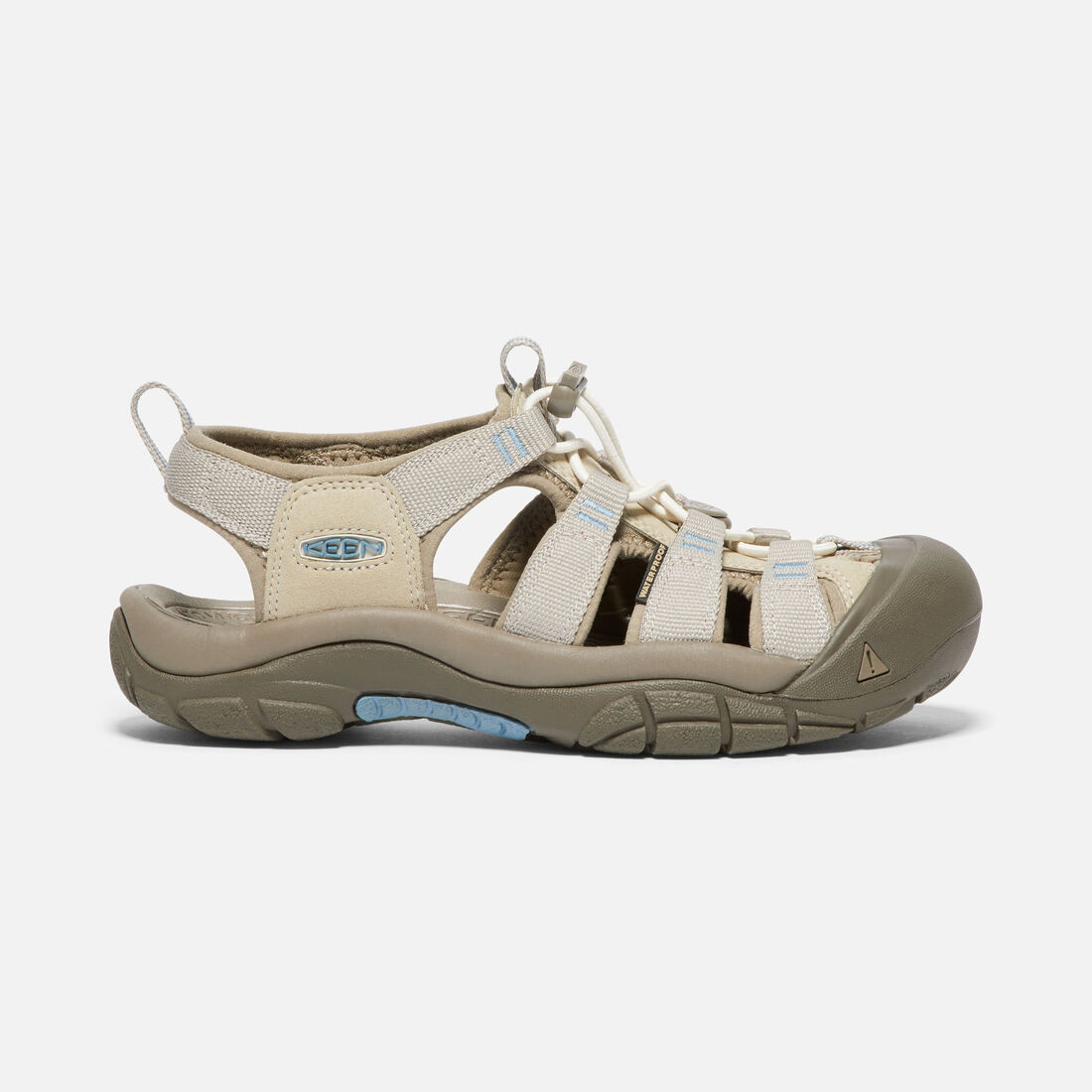 Women's Newport H2 in PLAZA TAUPE/PROVINCIAL BLUE - large view.