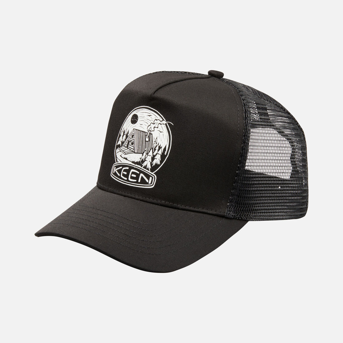 49f70198848  Cabin  Mesh Hat in Black - large view.