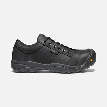 CSA LA CONNER (Aluminum Toe) Pour Homme in BLACK - large view.