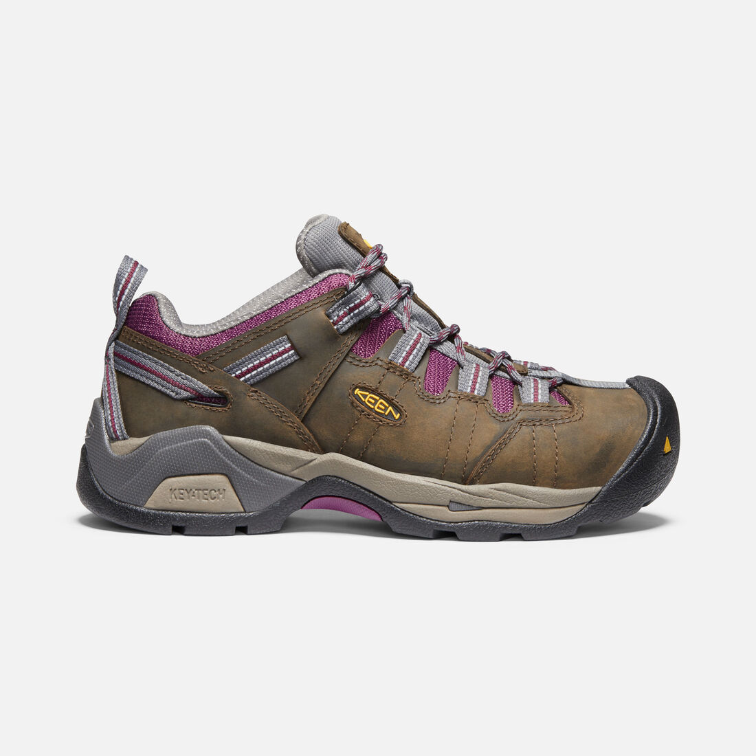 a8d76885825e Women s Detroit XT (Steel Toe) in CACADE BROWN  AMARANTH - large view.
