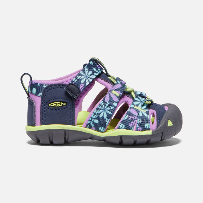 Toddlers' Seacamp II Cnx Sandals in Black Iris/African Violet - large view.