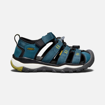 YOUNGER KIDS' NEWPORT NEO H2 SANDALS in LEGION BLUE/MOSS - large view.