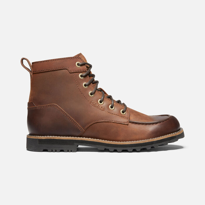 Men's The 59 Moc Casual Boots in Brown - large view.