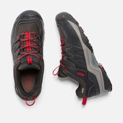 MEN'S GYPSUM II WATERPROOF  HIKING SHOES in Black/Tango - small view.