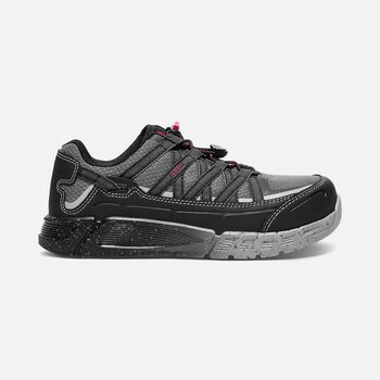 Women's CSA ASHEVILLE ESD (Aluminum Toe) in Black/Gargoyle - large view.