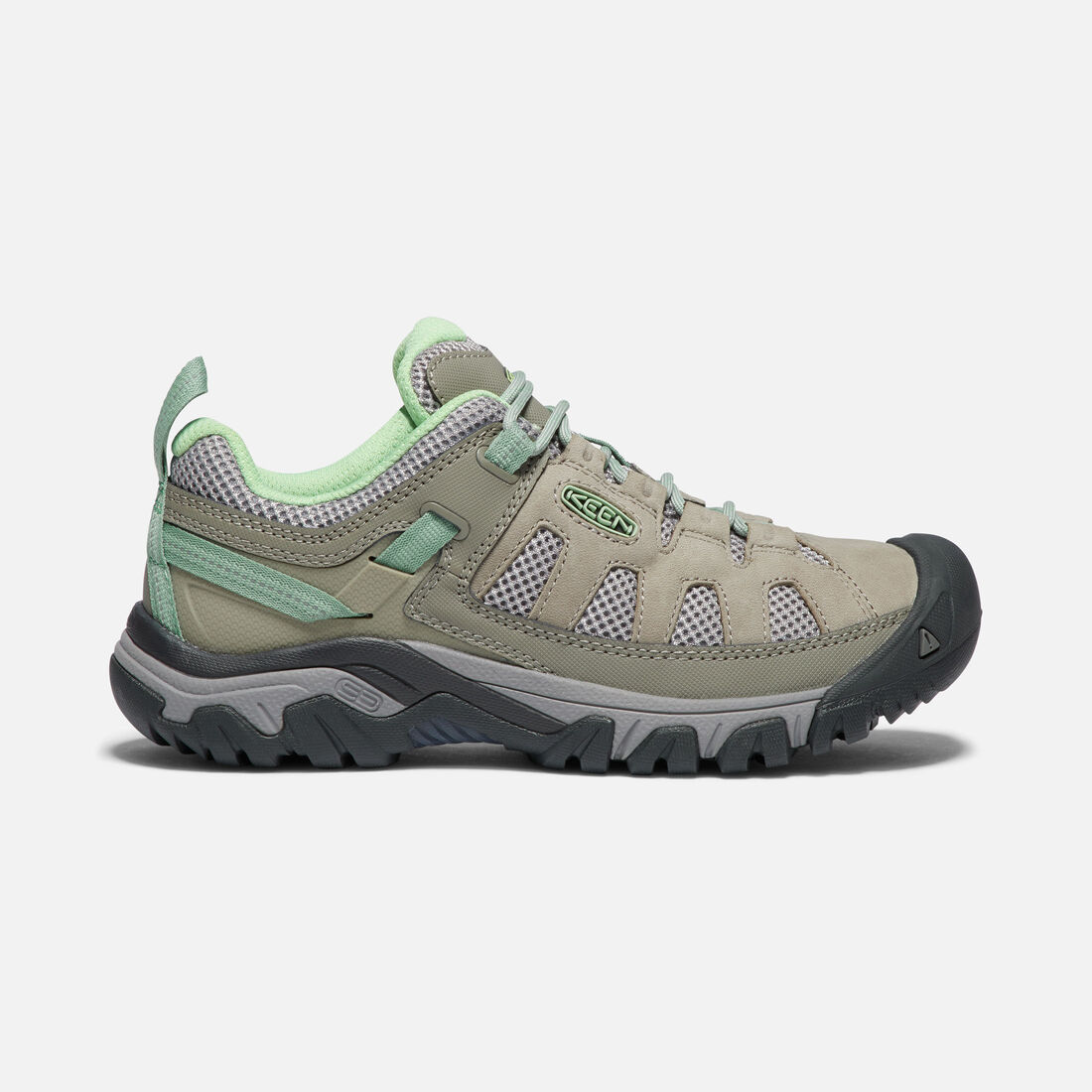 Women's TARGHEE VENT in FUMO/QUIET GREEN - large view.