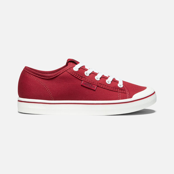 Women's Elsa Lite Sneaker in Red/White - large view.