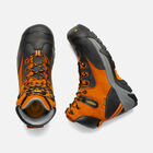CSA Val-D'Or Waterproof Mid (Composite Toe) pour homme in Persimmon Orange/Black - small view.