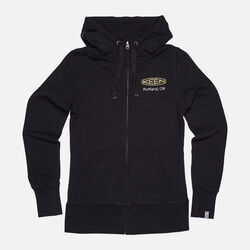 Women's KEEN PDX HOODIE in Black - small view.
