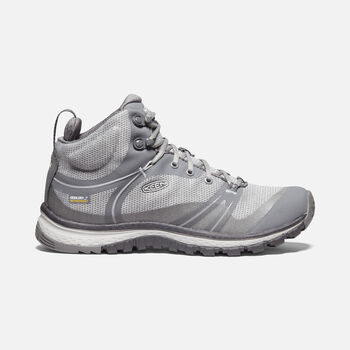 Women's TERRADORA Waterproof Mid in STEEL GREY/MAGNET - large view.