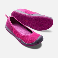 Big Kids' MOXIE FLAT in Very Berry/Purple Wine - small view.