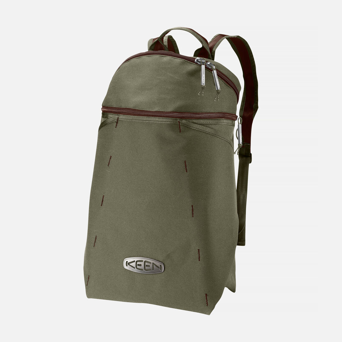 POST DAYPACK in Olive/Potting Soil - large view.