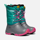 Big Kids' LUMI Waterproof Winter Boot in PARASAILING/DUSTY AQUA - small view.