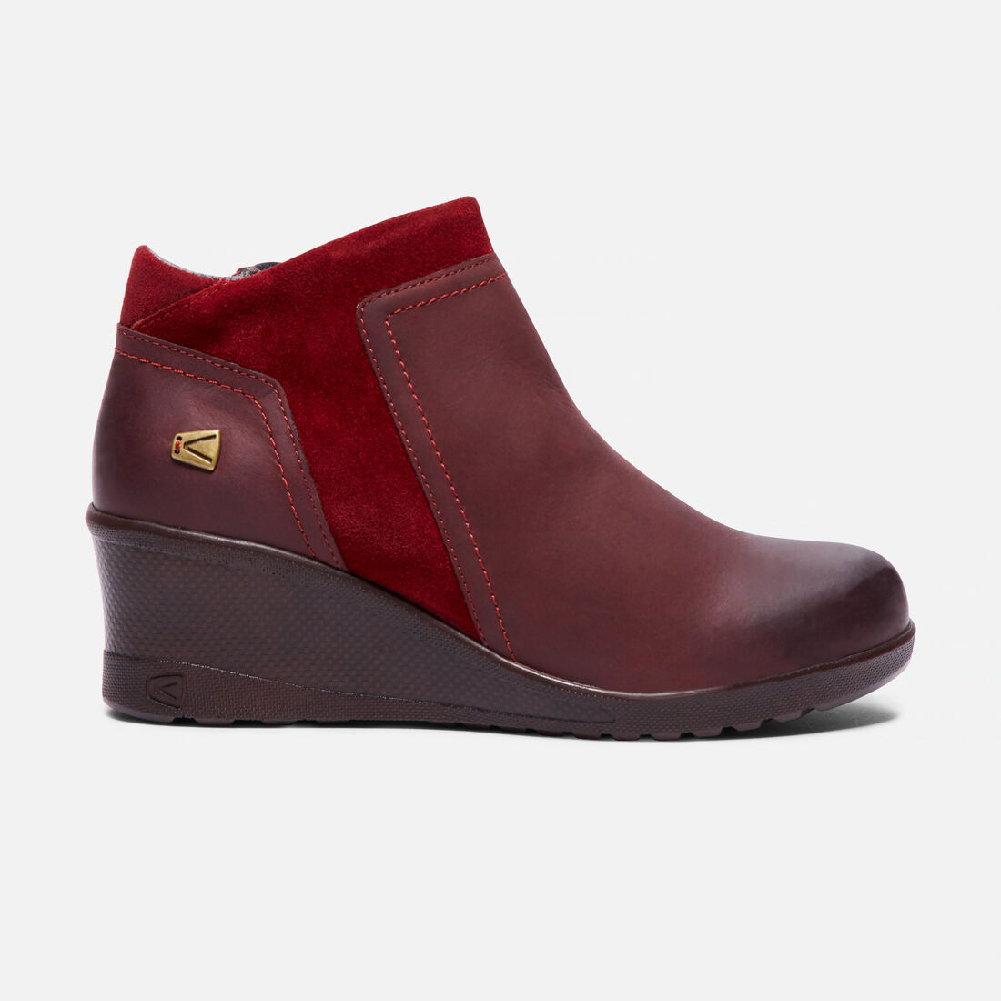65bfe8a48970 Women s KEEN Wedge Zip in Red Dahlia - large view.