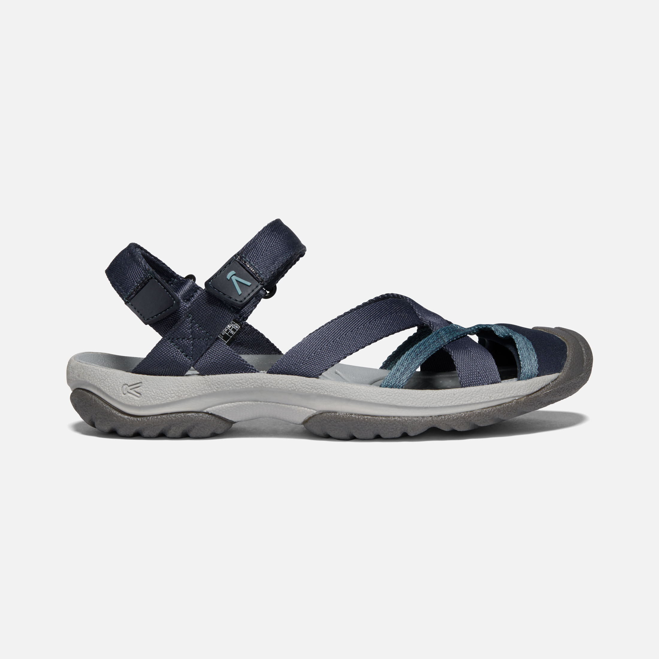 Closed-Toe Sandals - Ankle Strap - Kira