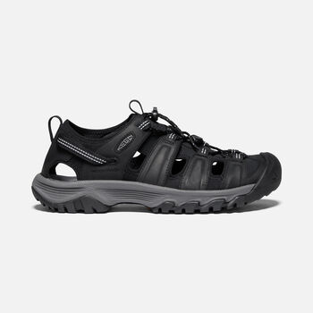 Men's Targhee III Sandal in Black/Grey - large view.