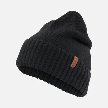 Locale Beanie in BLACK - large view.