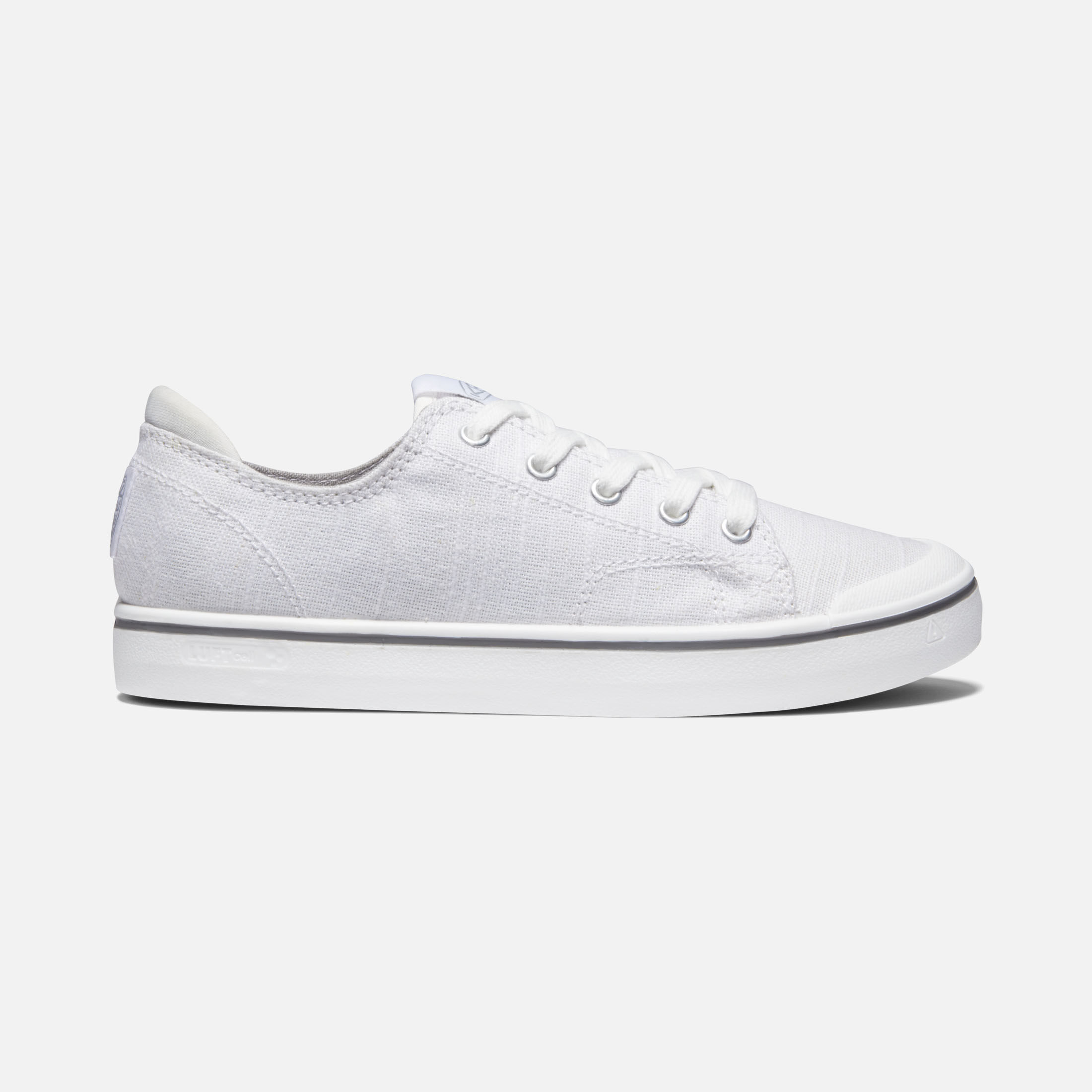 Lace-Up Canvas Sneakers - Elsa IV