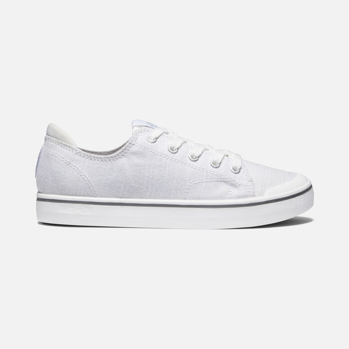 Women's Elsa IV Sneaker in White/Star White - large view.