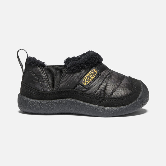 Toddlers' Howser II in Black/Keen Yellow - large view.