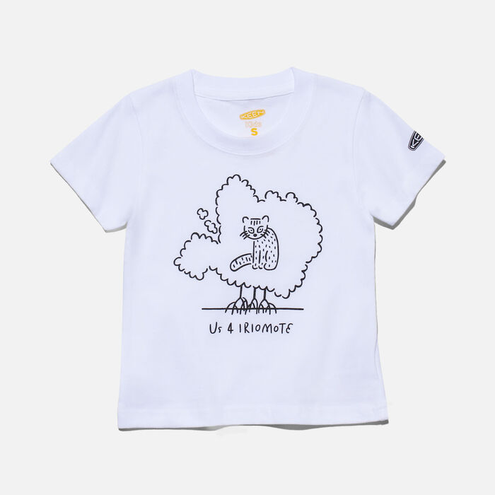 US 4 IRIOMOTE チャリティーKids Tシャツ in White - large view.