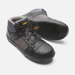 Men's Destin Mid (Steel Toe) in Black/Gargoyle - small view.
