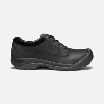 Men's Austin Casual Waterproof Shoes in BLACK/RAVEN - large view.