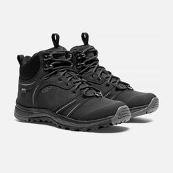 Women's TERRADORA WINTERSHELL Waterproof Mid in Black/Magnet - small view.