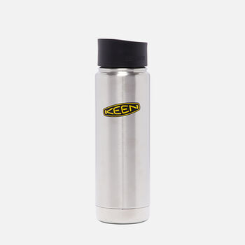 Insulated Cup with Cafe Cap 20oz. in Silver - large view.