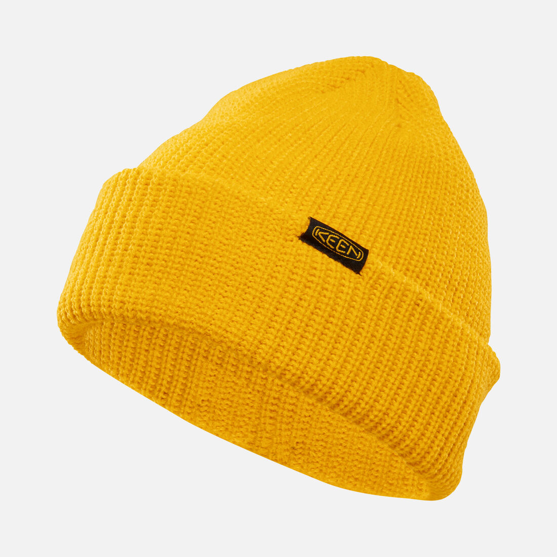 Hive Beanie in Yellow - large view.