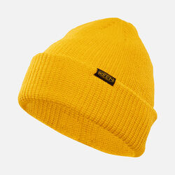 Hive Beanie in Yellow - small view.